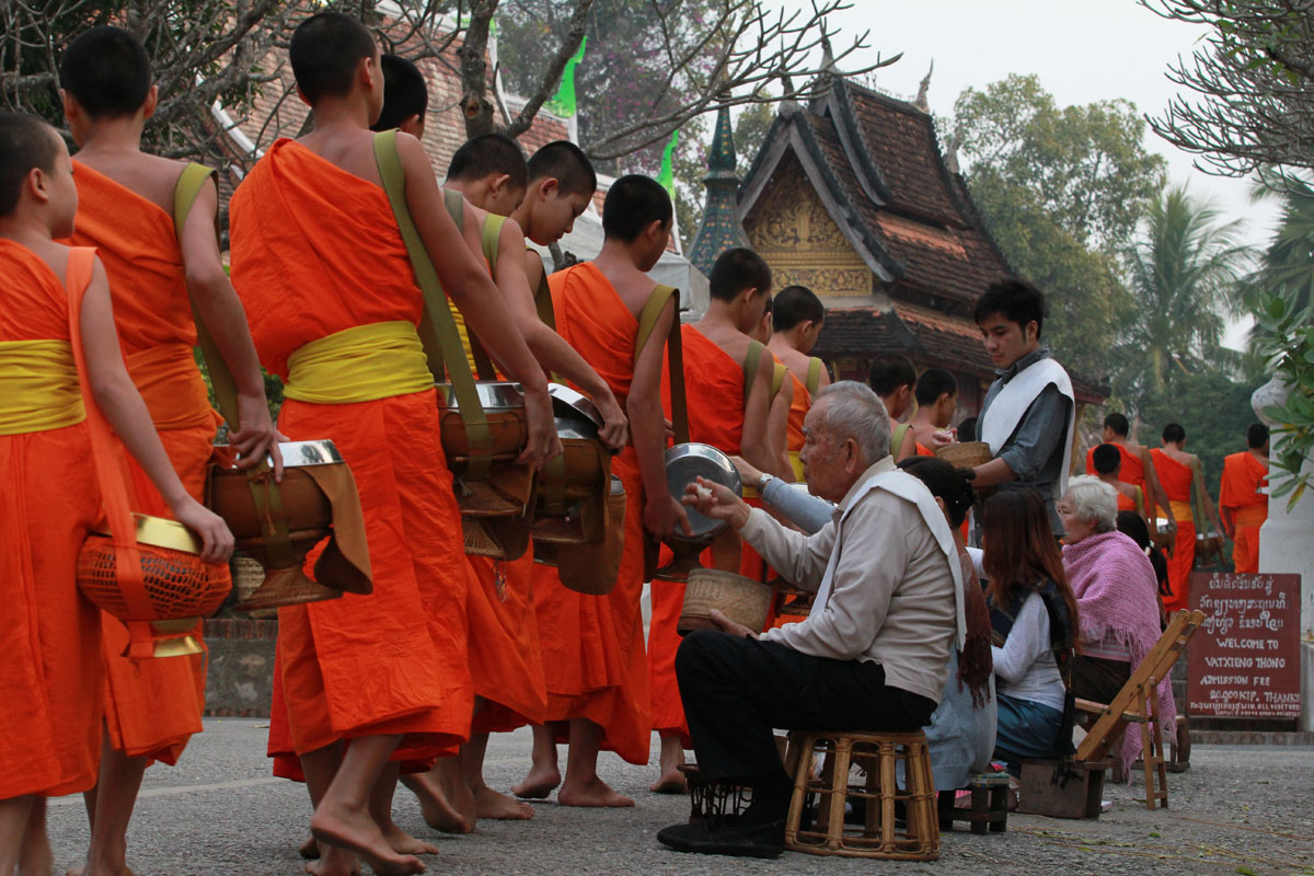 End of Buddhist Lent, October