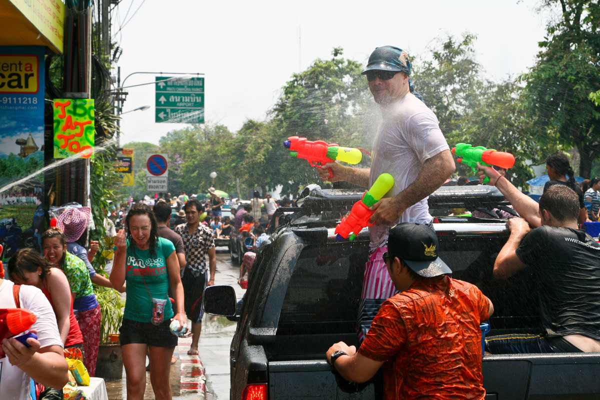 Songkran Festival, April