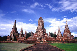 UNESCO's world heritage ancient capital of Ayutthaya