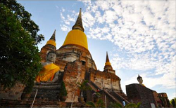 Ayutthaya has many pagodas all over the province